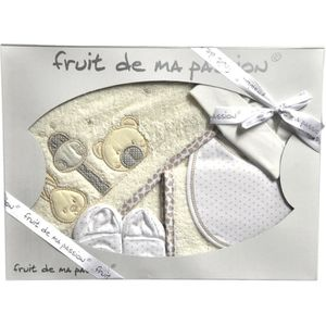 SORTIE DE BAIN Fruit de Ma Passion ensemble sortie de bain 5 pièc