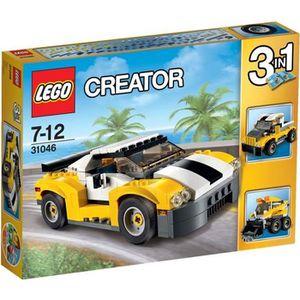 ASSEMBLAGE CONSTRUCTION LEGO® Creator 31046 La Voiture rapide 3 en 1