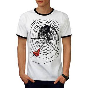 Floral ornement papillon fille visage t-shirt design qualité coton unisexe femmes