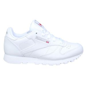 BASKET Basket garçon Reebok Classic Leather 50172 White