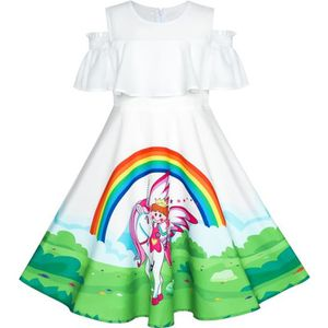 cf9d59084167e ROBE Sunny Fashion Robe Fille Licorne Arc-en- Accueil f