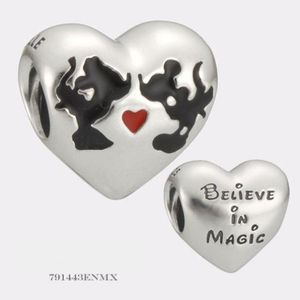 Charm's Pandora charm disney baiser de minnie %26 mickey 7