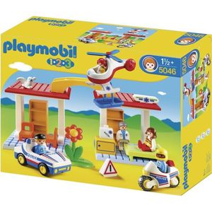 UNIVERS MINIATURE PLAYMOBIL 1.2.3. 5046 Coffret Hôpital + Secouriste