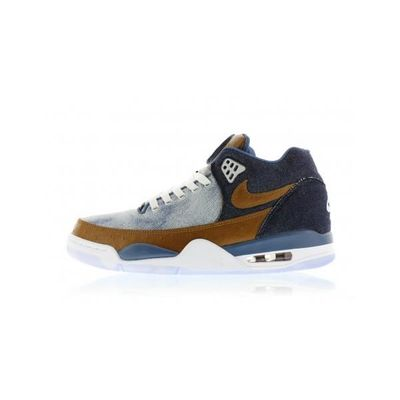 basket nike flight squad qs blanc