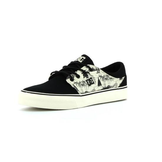 Baskets basses DC shoes Trase SP  Noir - Achat / Vente basket