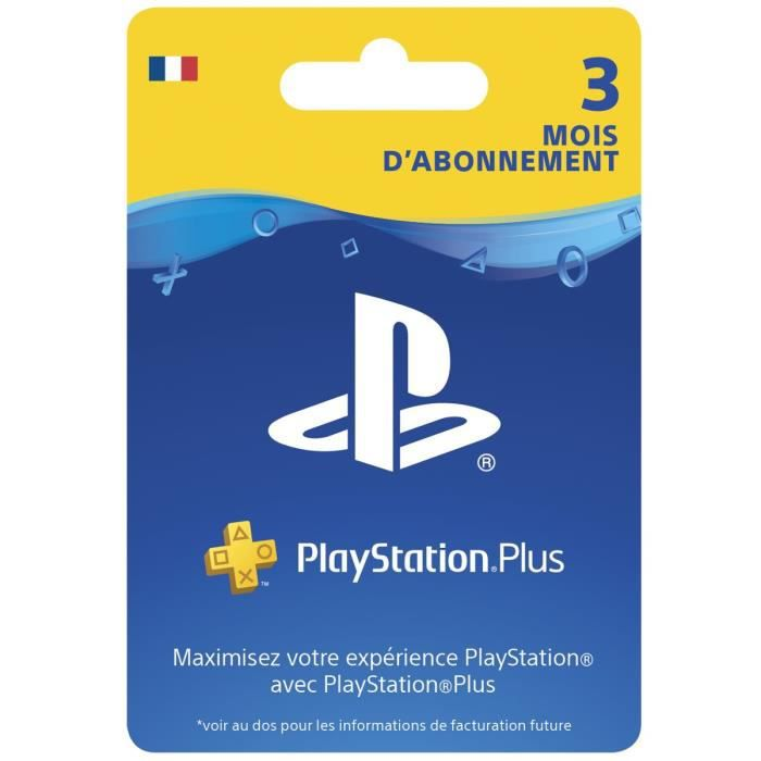 abonnement playstation plus 3 mois ps vita ps3 ps4 achat vente abonnement playstation plus. Black Bedroom Furniture Sets. Home Design Ideas