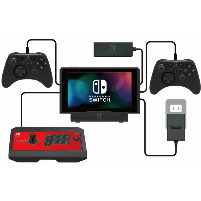 Support PlayStand USB multiport pour Switch
