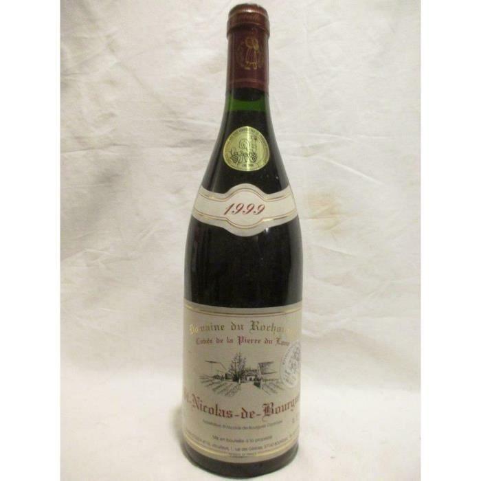 saint-nicolas de bourgueil domaine du rochouard cuvée pierre du lane rouge 1999 - loire - touraine