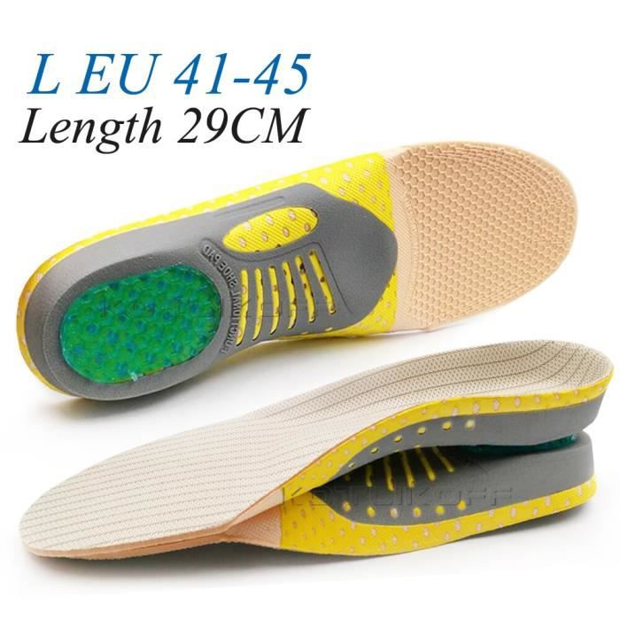 Semelle orthopédique EVA de haute qualité pour pieds plats, Support d'arc, chaussures orthopédiques pour hommes et [F8F9BA4]
