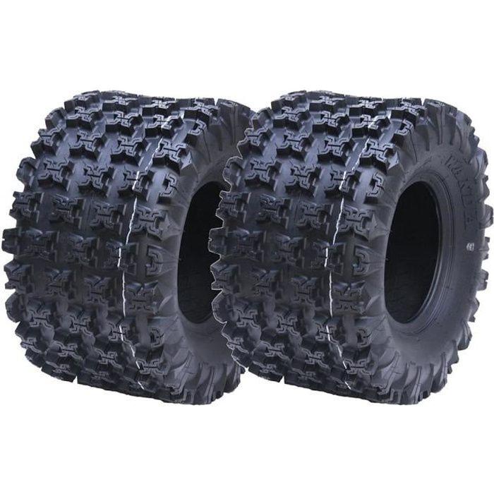 20x11.00-9 Slasher pneus quad VTT, 20 juin 11 à 9 plis route Wanda WP02 juridique, Set of 2