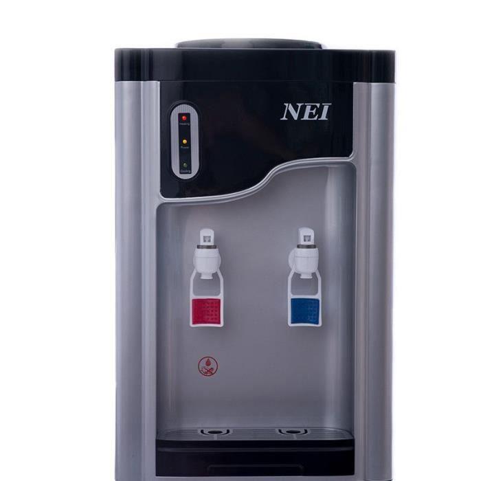 Distributeur d'eau de bureau NEI HSM-61TB-avec compresseur-Noir