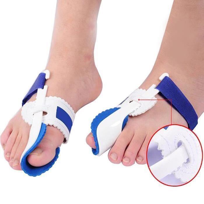 1 paire d'orteil lisseur Bunion ajusteur orthèses Hallux Valgus correcteur soin des pieds pédicure outil os pouce orteils sépara