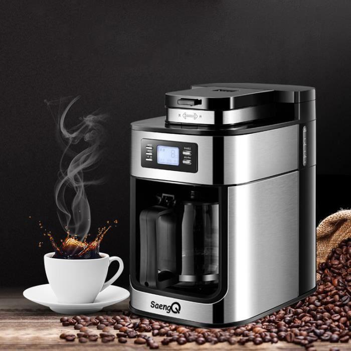 Machine à café électrique 1200 ml machine à expresso automatique à domicile appareil de cuisine à domicile café