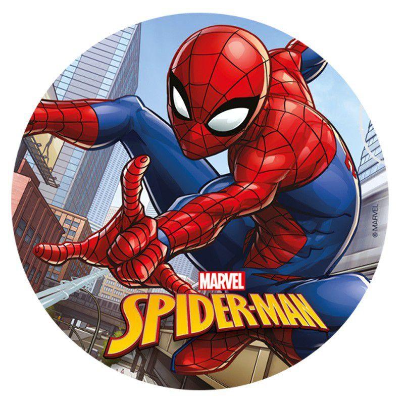 Disque azyme Spiderman 20 cm