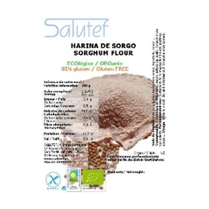 Salutef+Farine de sorgho ECO 300 g de poudre