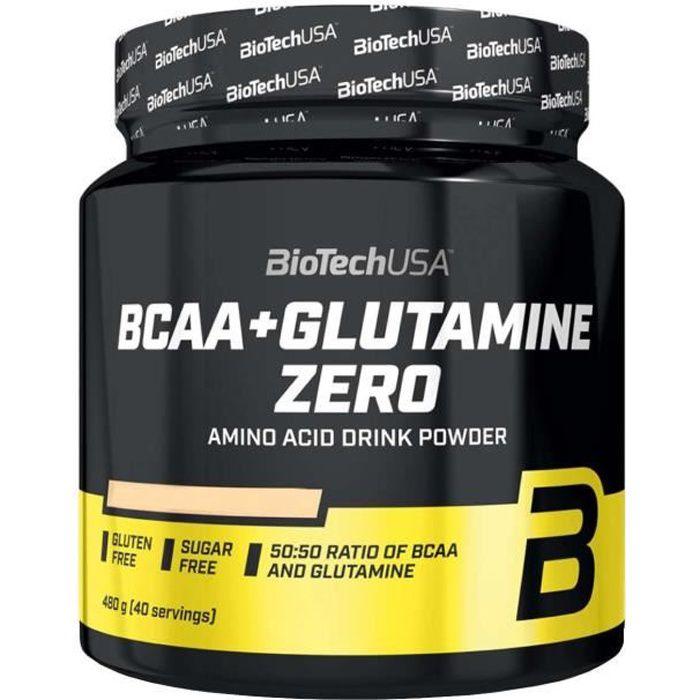 BCAA + Glutamine Zero 480 g Orange Biotech USA