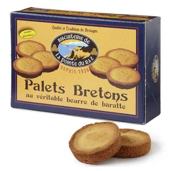 Palets bretons au beurre de baratte Pointe du Raz 360 gr
