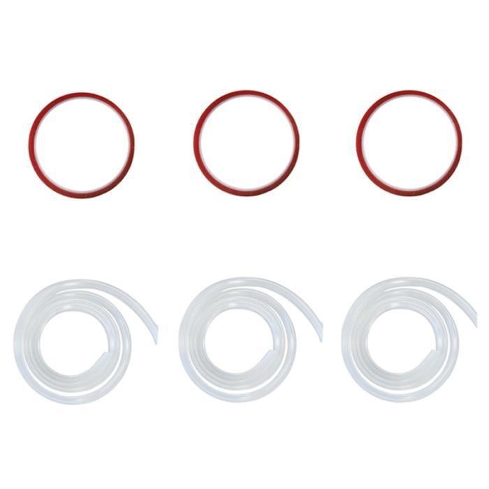 3 Ensembles Pratique Premium Baby Safety Bumpers Strips anti-collision pour la protection de garage aide a la conduite - securite