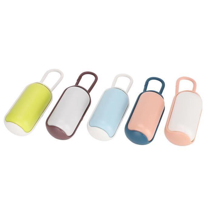 Garosa Distributeur de toilettes de nettoyage Sac de Toilette Portable avec Distributeur de Sacs Poubelle Lavable Nettoyage