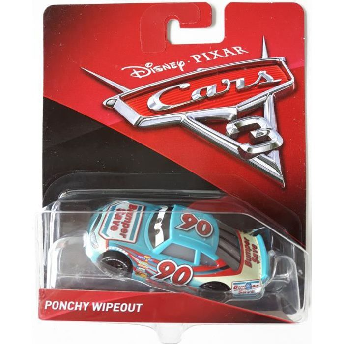 Ponchy Wipeout Bumper Save voiture Cars 3