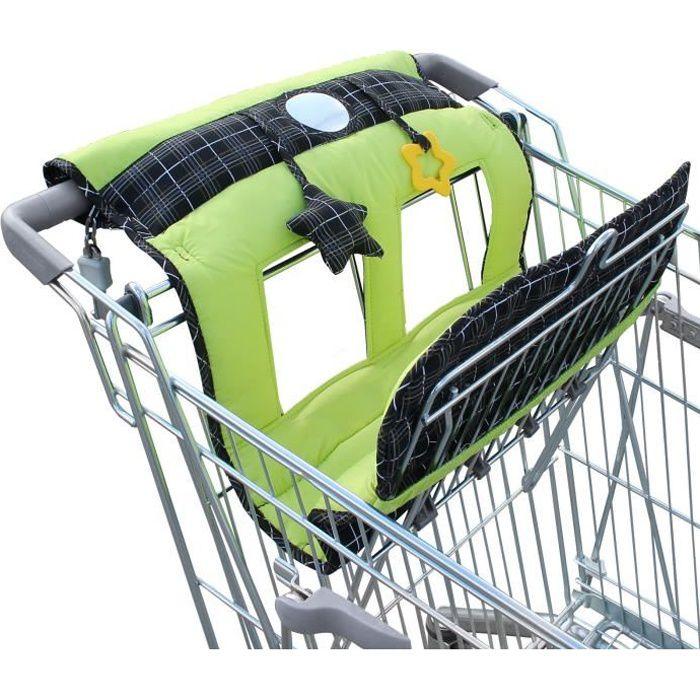 Protège Siège Chariot Caddie pour enfant + jouets