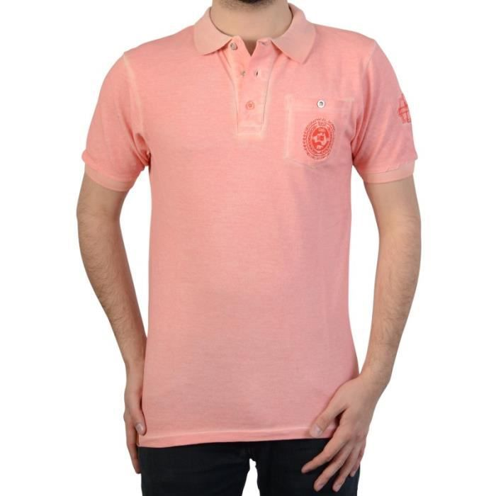 Polo Geographical Norway Kaucun SS Men 100 Corail
