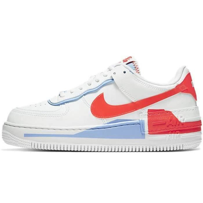 Basket Air Force 1 Shadow Air Force One AF 1 Low Chaussures de Running Femme CQ9503-1100
