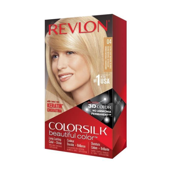 COLORSILK Coloration N°04 - Blond naturel ultra clair - 59,1 ml
