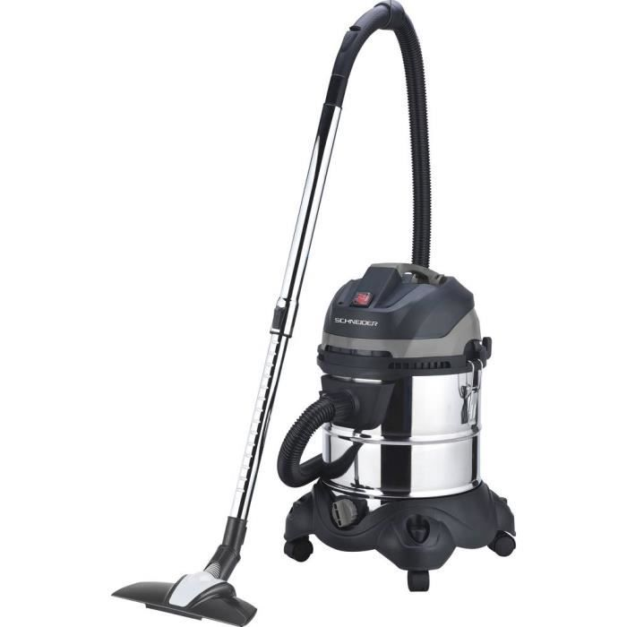 Aspirateur eau et poussière 20L Schneider 50004
