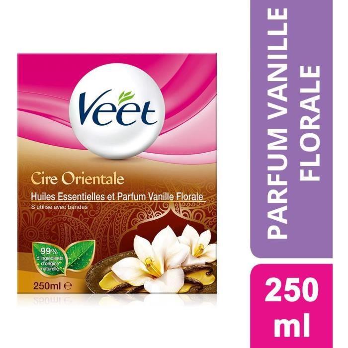 Cire orientale vanille 250ml Veet