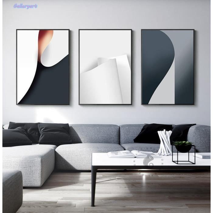 Décor Industriel Papier Rouleau Toile Peinture Murale Art Pour Salon Salle à Manger Bureau Moderne Maison Affiches Non Encadré