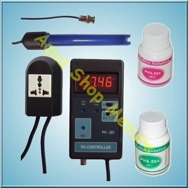 Ph m tre contr leur de co2 pour aquarium piscine achat for Ph metre piscine