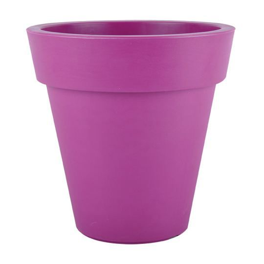 pot plastique 45cm violet 100 recyclable 45x4 achat vente jardini re pot fleur pot. Black Bedroom Furniture Sets. Home Design Ideas