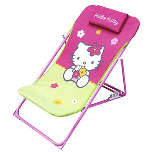 hello kitty chaise longue achat vente chaise tabouret b b cdiscount. Black Bedroom Furniture Sets. Home Design Ideas