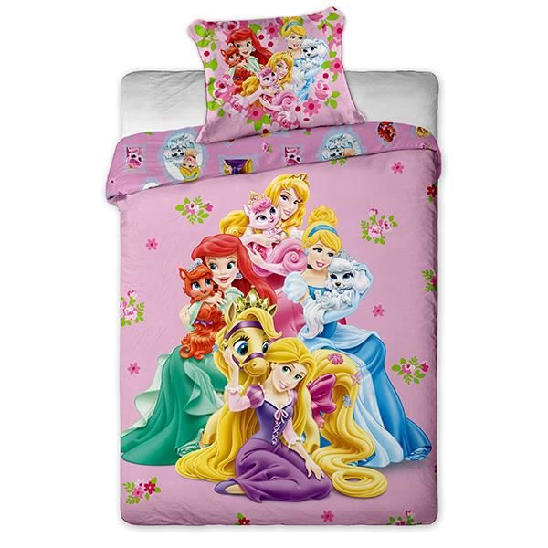 housse de couette princesses disney palace pets achat. Black Bedroom Furniture Sets. Home Design Ideas