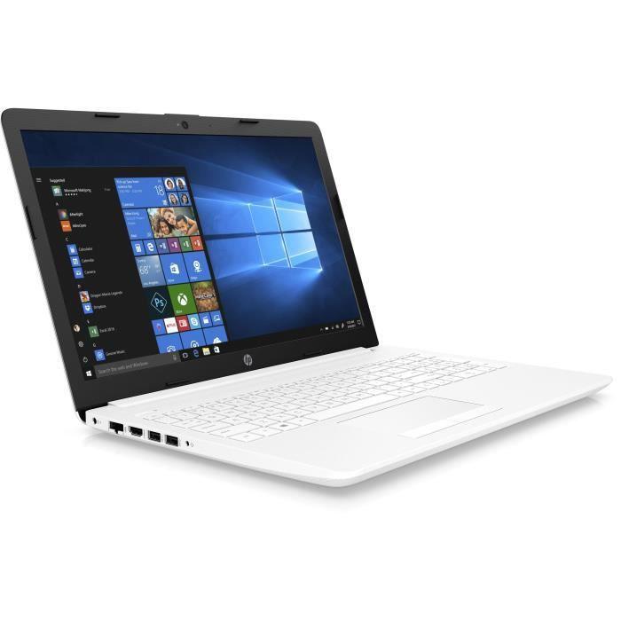 """ORDINATEUR PORTABLE HP PC Portable 15-db0025nf - 15,6"""" HD - AMD A6-922"""
