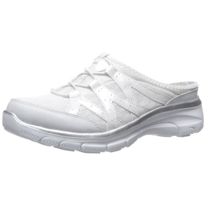 White Skechers Mule Shoes | Casual