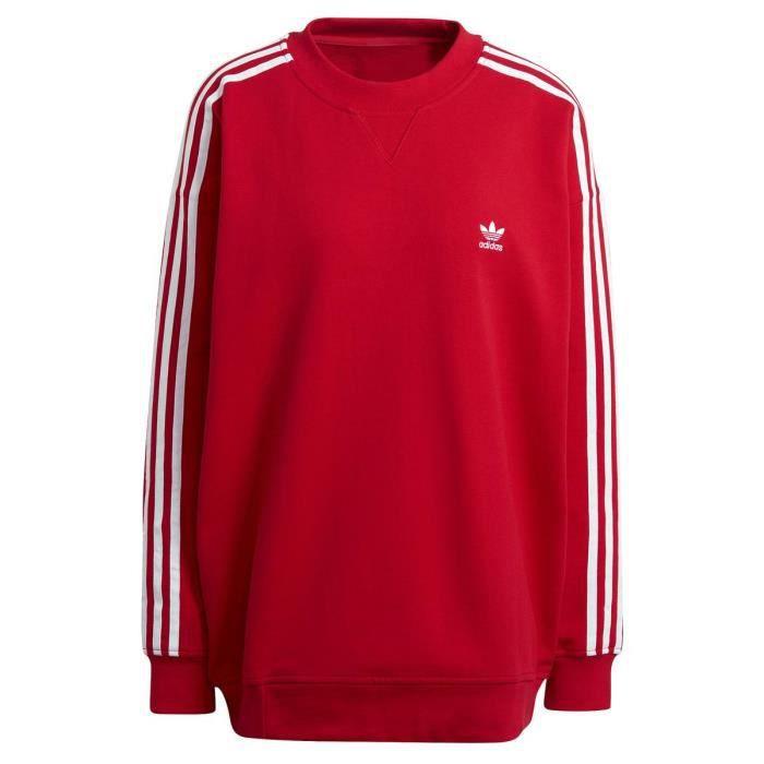 Sweat adidas rouge - Cdiscount
