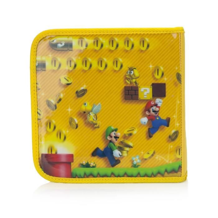Pochette de transport super mario 2 3ds 3ds xl achat for Housse 2ds mario