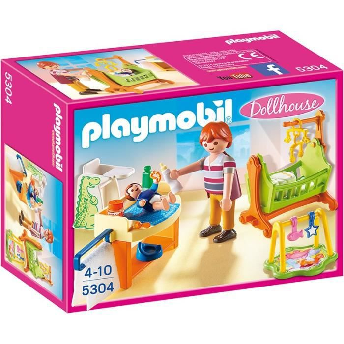 UNIVERS MINIATURE PLAYMOBIL 5304 - La Maison Traditionnelle - Chambr