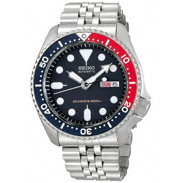montre plongee diver 39 s homme seiko automatique skx009k2. Black Bedroom Furniture Sets. Home Design Ideas