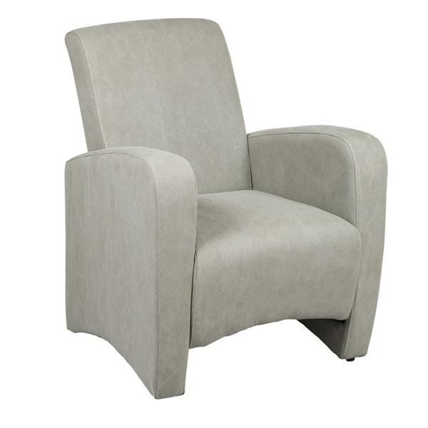 fauteuil club gris clair salon salle manger bon. Black Bedroom Furniture Sets. Home Design Ideas