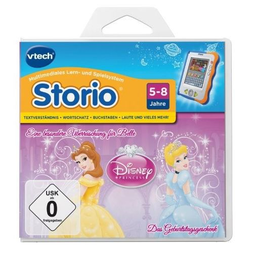 JEU CONSOLE EDUCATIVE VTECH 80-281104 - STORIO APPRENTISSAGE JEU DISN…