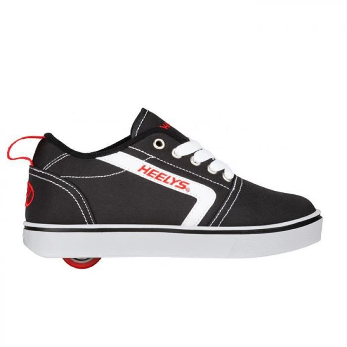 Heelys chaussure a roulette gr8 pro 100215 black white red