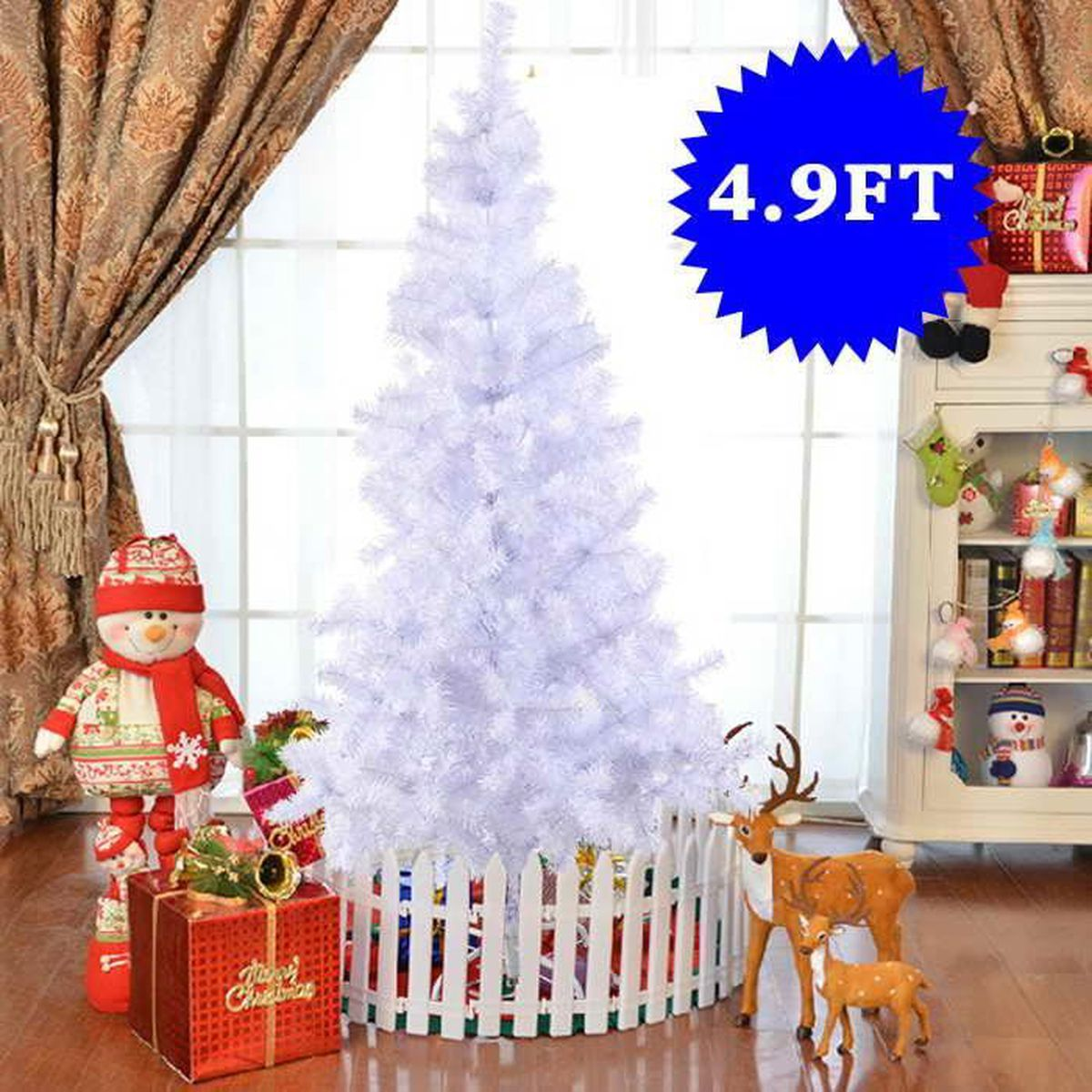 arbre de no l artificiel sapin 150 180 210 240cm au choix. Black Bedroom Furniture Sets. Home Design Ideas