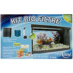 AQUARIUM AIME Kit Bio filtre - Pour poisson