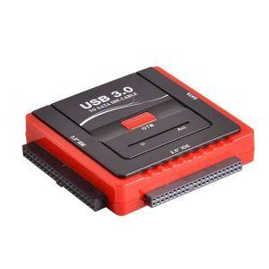 CÂBLE INFORMATIQUE Adaptateur USB 3.0 vers Dsique Dur IDE SATA, Conve