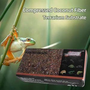 DÉCO VÉGÉTALE - RACINE Substrat de terrarium en fibre de coco comprimée p