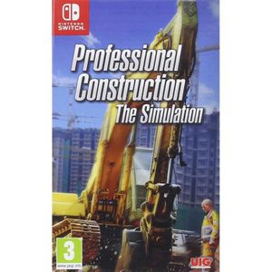 JEU NINTENDO SWITCH Professional Construction The Simulation Switch