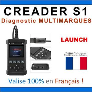 OUTIL DE DIAGNOSTIC Valise diagnostique Auto Pro Multimarque Obd2 Diag